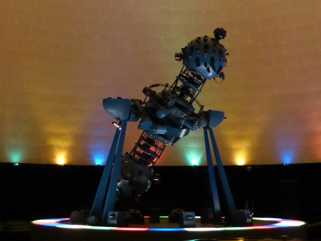 Planetarium at the Pacific Science Center